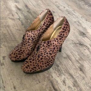Cheetah print high heels